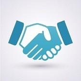 20402388-handshake-icon